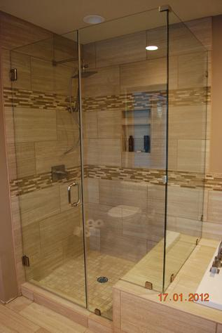 Frameless Glass Showers and Glass Enclosures