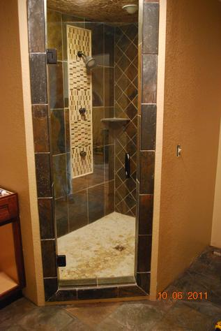 Glass Single shower door
